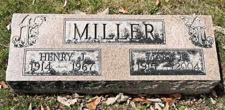 MILLER, HENRY J - Richland County, Ohio | HENRY J MILLER - Ohio Gravestone Photos