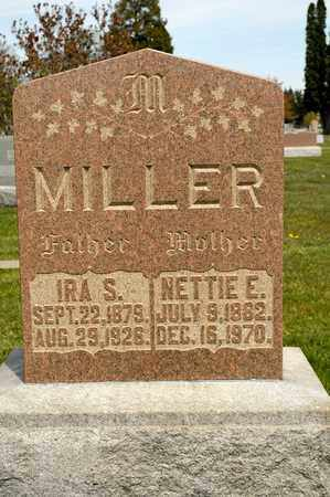 MILLER, IRA S - Richland County, Ohio   IRA S MILLER - Ohio Gravestone Photos