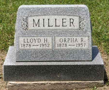 MILLER, LLOYD H - Richland County, Ohio | LLOYD H MILLER - Ohio Gravestone Photos