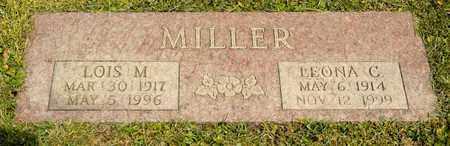 MILLER, LEONA C - Richland County, Ohio | LEONA C MILLER - Ohio Gravestone Photos