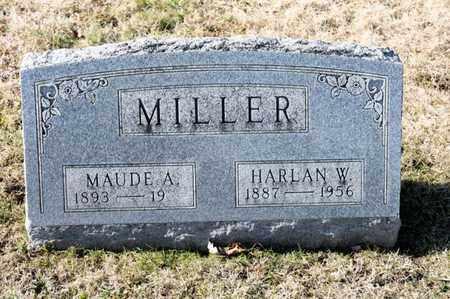 MILLER, MAUDE A - Richland County, Ohio | MAUDE A MILLER - Ohio Gravestone Photos
