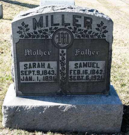 MILLER, SARAH A - Richland County, Ohio | SARAH A MILLER - Ohio Gravestone Photos