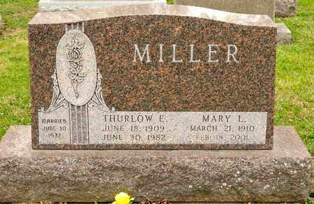 MILLER, MARY L - Richland County, Ohio | MARY L MILLER - Ohio Gravestone Photos