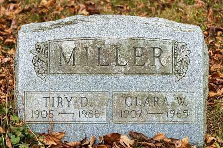 MILLER, TIRY D - Richland County, Ohio   TIRY D MILLER - Ohio Gravestone Photos