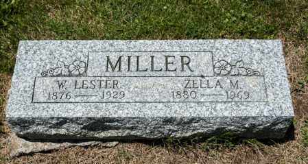 MILLER, ZELLA M - Richland County, Ohio | ZELLA M MILLER - Ohio Gravestone Photos