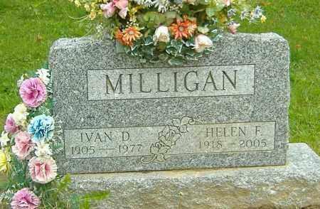MCCLURG MILLIGAN, HELEN F. - Richland County, Ohio | HELEN F. MCCLURG MILLIGAN - Ohio Gravestone Photos