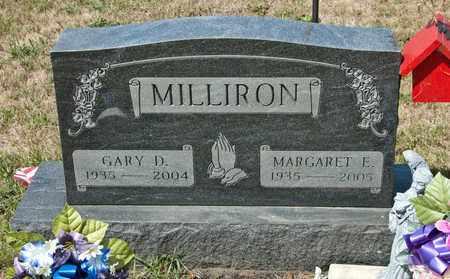 MILLIRON, GARY D - Richland County, Ohio | GARY D MILLIRON - Ohio Gravestone Photos