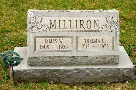 MILLIRON, THELMA G - Richland County, Ohio | THELMA G MILLIRON - Ohio Gravestone Photos