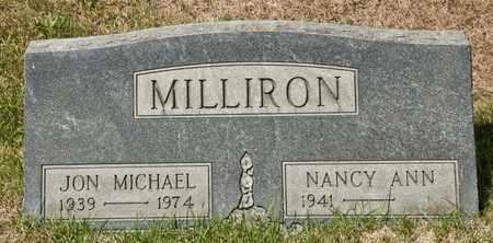 MILLIRON, JON MICHAEL - Richland County, Ohio | JON MICHAEL MILLIRON - Ohio Gravestone Photos