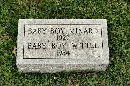 WITTEL, BABY BOY - Richland County, Ohio | BABY BOY WITTEL - Ohio Gravestone Photos