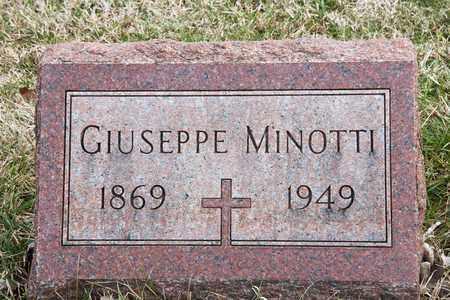 MINOTTI, GIUSEPPE - Richland County, Ohio | GIUSEPPE MINOTTI - Ohio Gravestone Photos