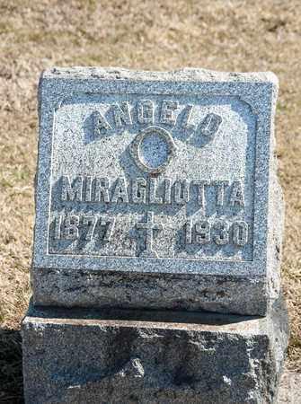 MIRAGLIOTTA, ANGELO - Richland County, Ohio | ANGELO MIRAGLIOTTA - Ohio Gravestone Photos