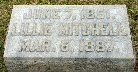 MITCHELL, LILLIE - Richland County, Ohio | LILLIE MITCHELL - Ohio Gravestone Photos