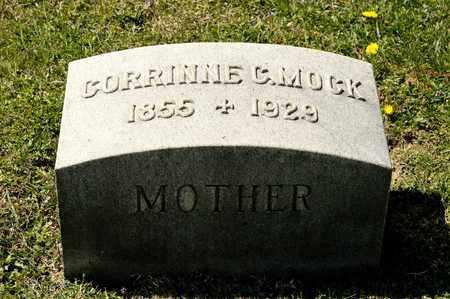 MOCK, CORRINNE C - Richland County, Ohio | CORRINNE C MOCK - Ohio Gravestone Photos