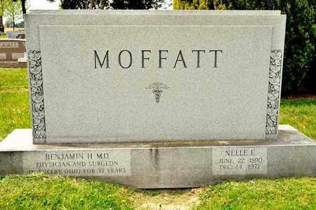 MOFATT, NELLE E - Richland County, Ohio | NELLE E MOFATT - Ohio Gravestone Photos