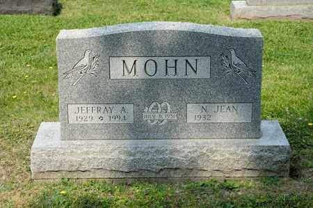 MOHN, JEFFRAY A - Richland County, Ohio | JEFFRAY A MOHN - Ohio Gravestone Photos