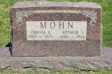 MOHN, ARTHUR J - Richland County, Ohio | ARTHUR J MOHN - Ohio Gravestone Photos