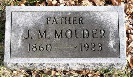 MOLDER, J M - Richland County, Ohio   J M MOLDER - Ohio Gravestone Photos