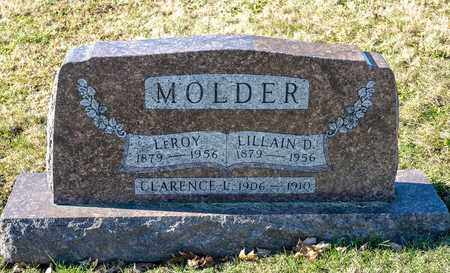 MOLDER, LILLAIN D - Richland County, Ohio | LILLAIN D MOLDER - Ohio Gravestone Photos