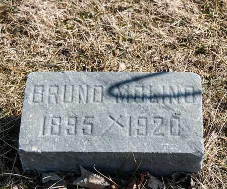 MOLINO, BRUNO - Richland County, Ohio | BRUNO MOLINO - Ohio Gravestone Photos
