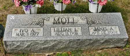MOLL, IVO A - Richland County, Ohio | IVO A MOLL - Ohio Gravestone Photos