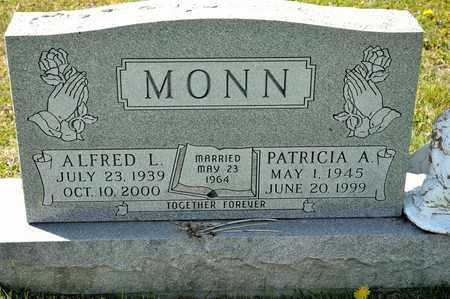 MONN, PATRICIA A - Richland County, Ohio | PATRICIA A MONN - Ohio Gravestone Photos