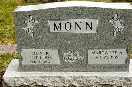 MONN, DON R - Richland County, Ohio | DON R MONN - Ohio Gravestone Photos