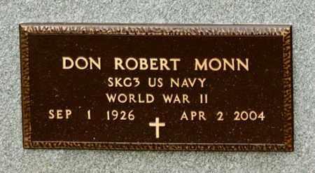 MONN, DON ROBERT - Richland County, Ohio | DON ROBERT MONN - Ohio Gravestone Photos