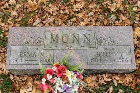 MONN, JOSEPH T - Richland County, Ohio | JOSEPH T MONN - Ohio Gravestone Photos