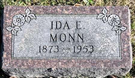 MONN, IDA E - Richland County, Ohio   IDA E MONN - Ohio Gravestone Photos