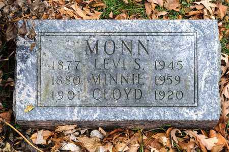 MONN, MINNIE - Richland County, Ohio | MINNIE MONN - Ohio Gravestone Photos