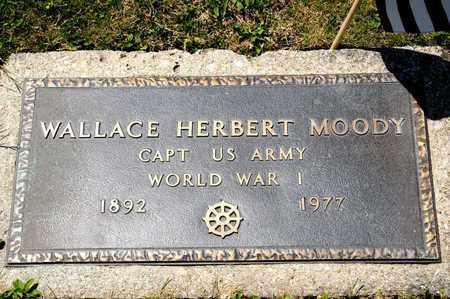 MOODY, WALLACE - Richland County, Ohio   WALLACE MOODY - Ohio Gravestone Photos