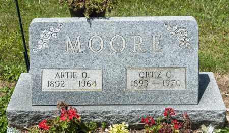 MOORE, ORTIZ C - Richland County, Ohio   ORTIZ C MOORE - Ohio Gravestone Photos