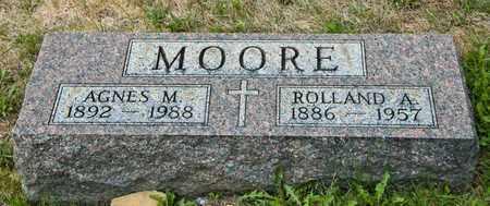 MOORE, AGNES M - Richland County, Ohio | AGNES M MOORE - Ohio Gravestone Photos