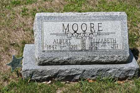 MOORE, ALBERT - Richland County, Ohio   ALBERT MOORE - Ohio Gravestone Photos