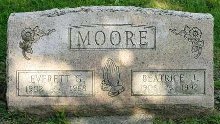 MOORE, EVERETT G - Richland County, Ohio | EVERETT G MOORE - Ohio Gravestone Photos