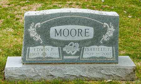MOORE, ISABELLE T - Richland County, Ohio | ISABELLE T MOORE - Ohio Gravestone Photos