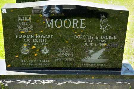 MOORE, DOROTHY E - Richland County, Ohio | DOROTHY E MOORE - Ohio Gravestone Photos