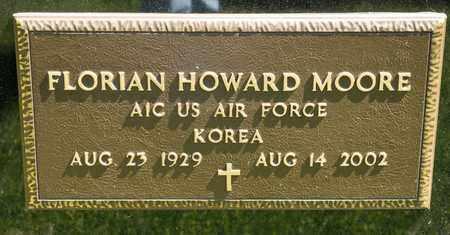 MOORE, FLORIAN HOWARD - Richland County, Ohio | FLORIAN HOWARD MOORE - Ohio Gravestone Photos