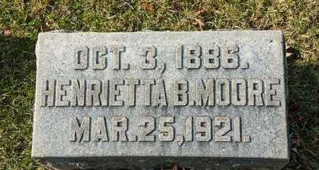 MOORE, HENRIETTA B - Richland County, Ohio | HENRIETTA B MOORE - Ohio Gravestone Photos