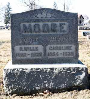 MOORE, CAROLINE - Richland County, Ohio | CAROLINE MOORE - Ohio Gravestone Photos