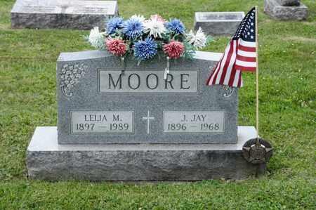 MOORE, J JAY - Richland County, Ohio | J JAY MOORE - Ohio Gravestone Photos