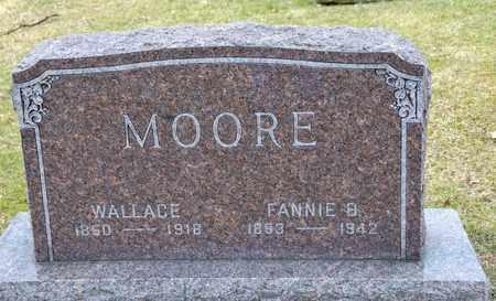MOORE, WALLACE - Richland County, Ohio   WALLACE MOORE - Ohio Gravestone Photos