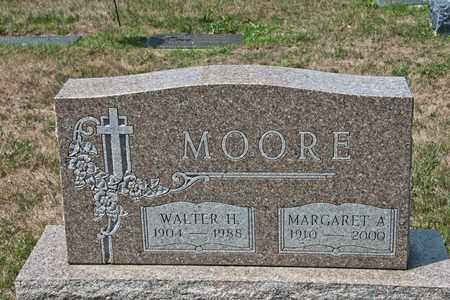 MOORE, MARGARET A - Richland County, Ohio | MARGARET A MOORE - Ohio Gravestone Photos