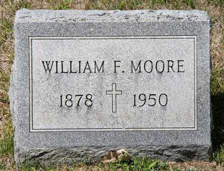MOORE, WILLIAM F - Richland County, Ohio | WILLIAM F MOORE - Ohio Gravestone Photos