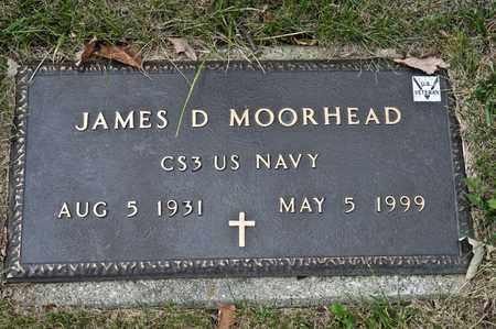 MOORHEAD, JAMES D - Richland County, Ohio | JAMES D MOORHEAD - Ohio Gravestone Photos