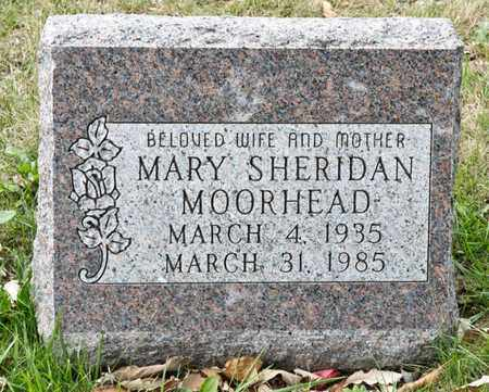 MOORHEAD, MARY - Richland County, Ohio | MARY MOORHEAD - Ohio Gravestone Photos