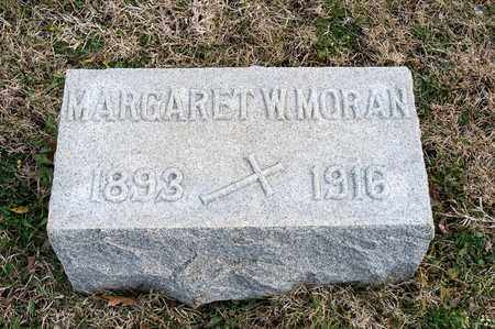 MORAN, MARGARET W - Richland County, Ohio | MARGARET W MORAN - Ohio Gravestone Photos