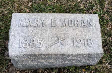 MORAN, MARY E - Richland County, Ohio | MARY E MORAN - Ohio Gravestone Photos