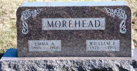 MOREHEAD, EMMA A - Richland County, Ohio | EMMA A MOREHEAD - Ohio Gravestone Photos